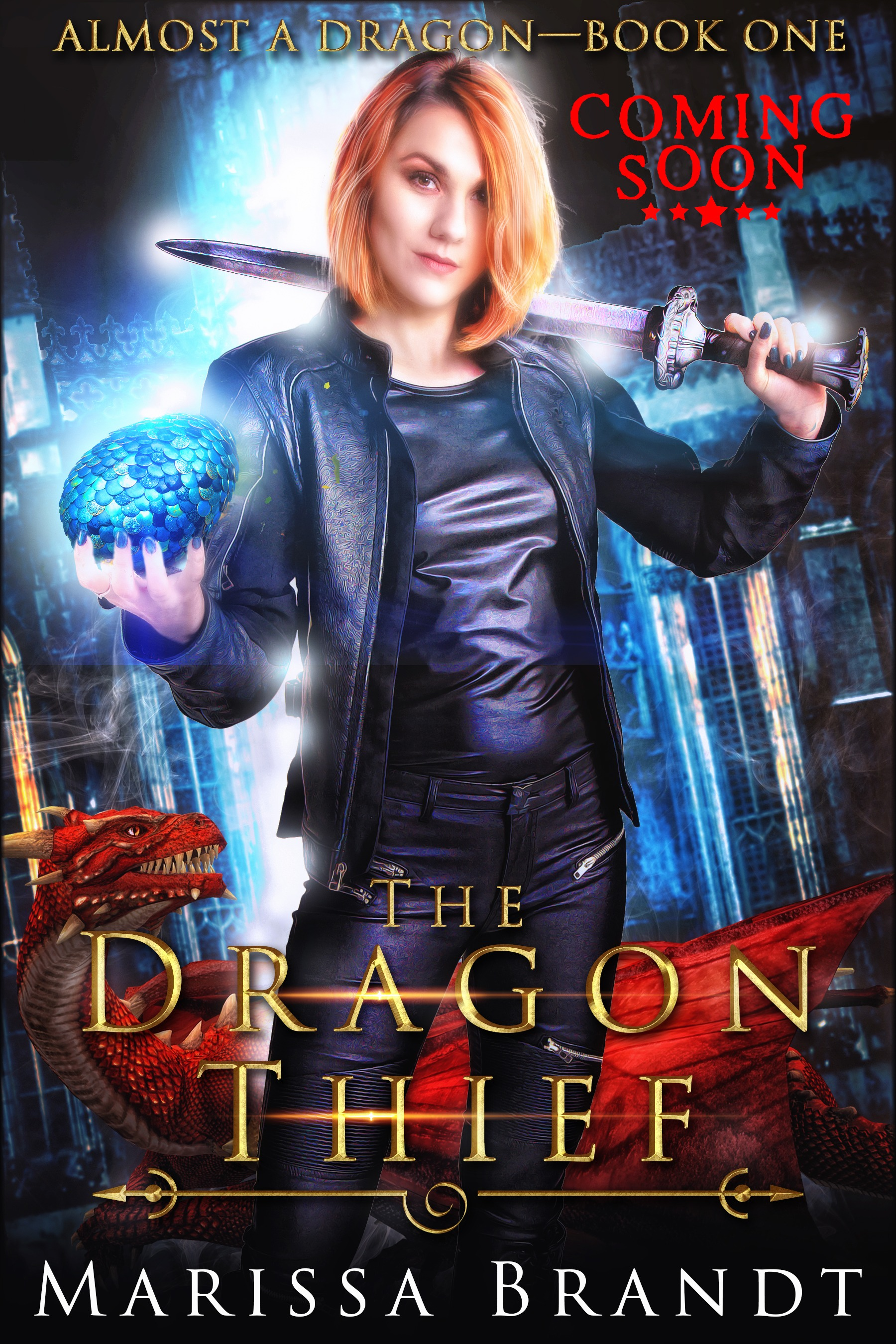 The Dragon Thief - Marissa Brandt - coming soon book-cover