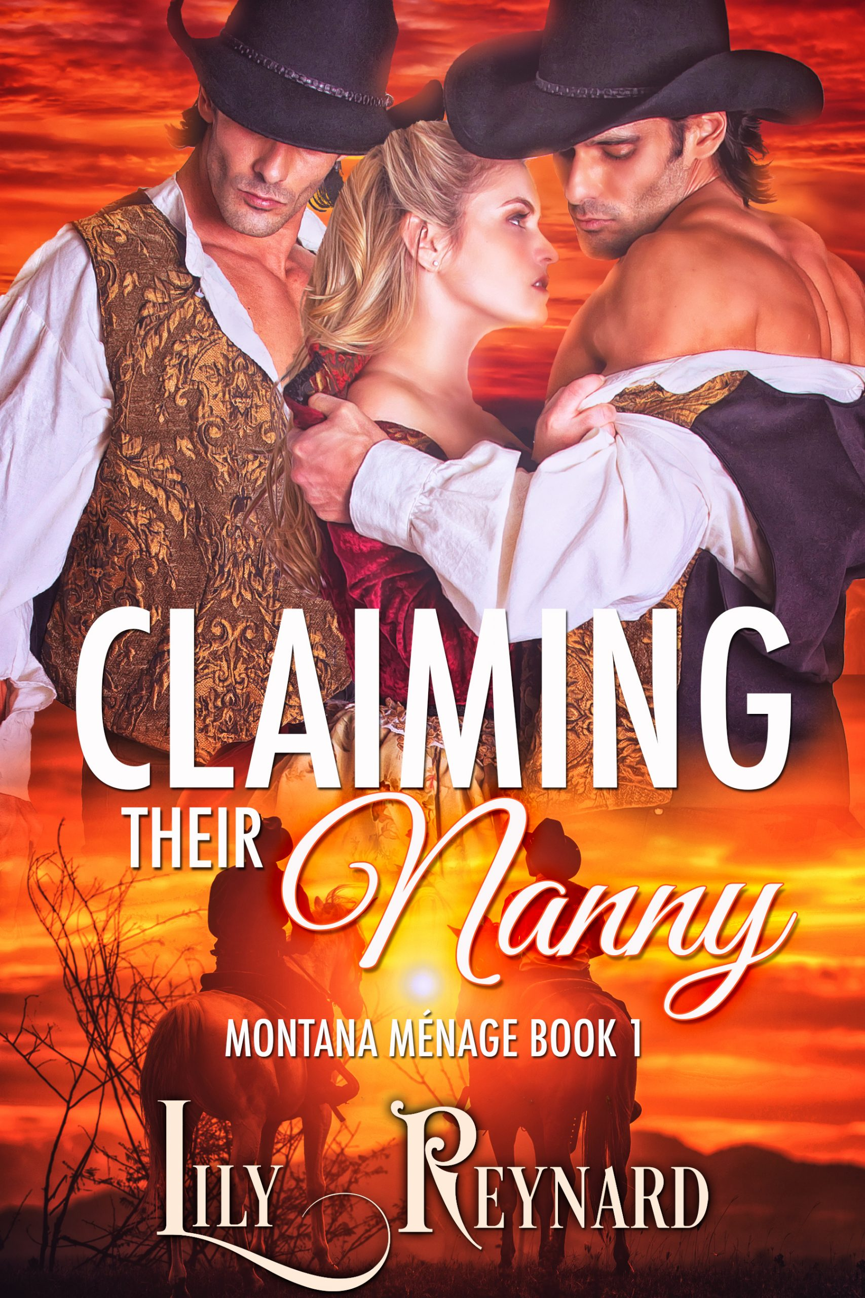 cover art for Claiming Their Nanny