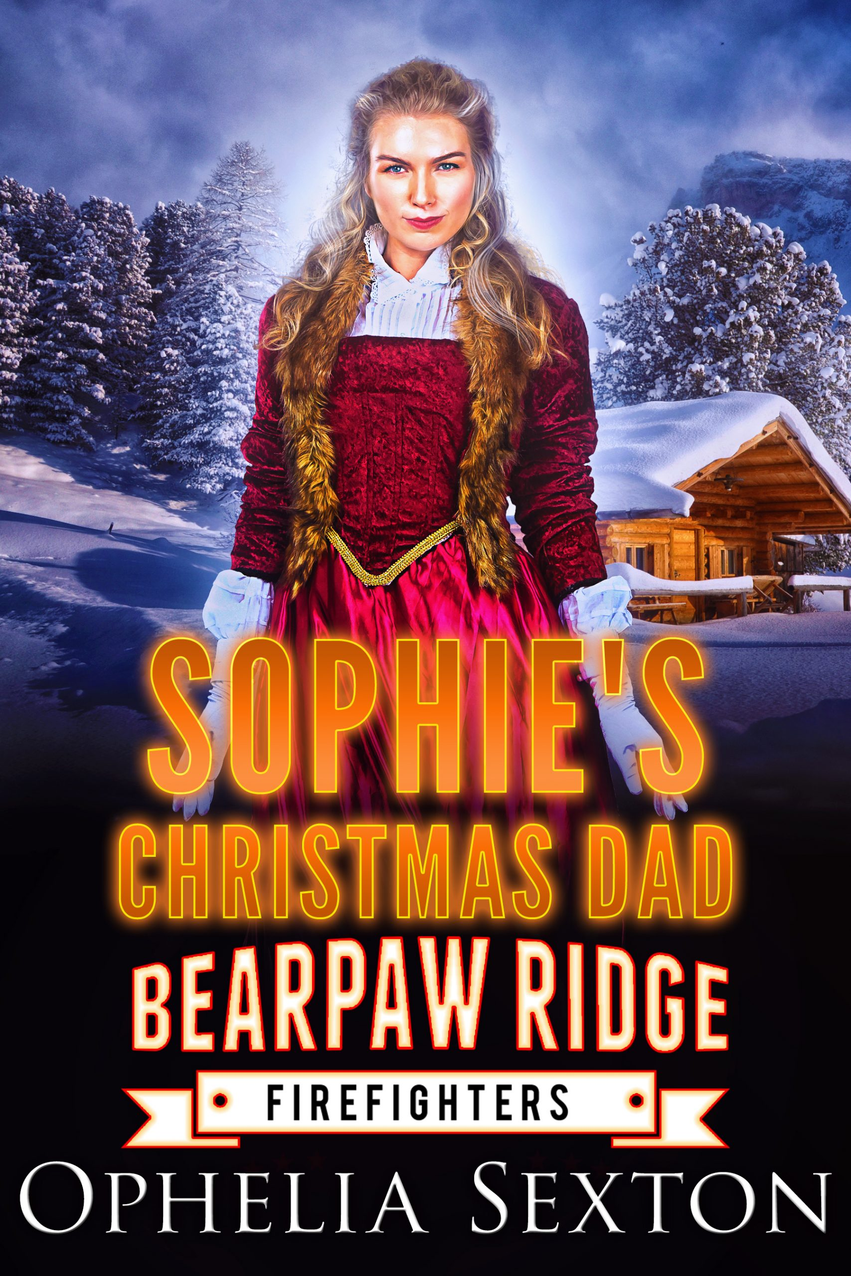 Sophie's christmas dad cover art