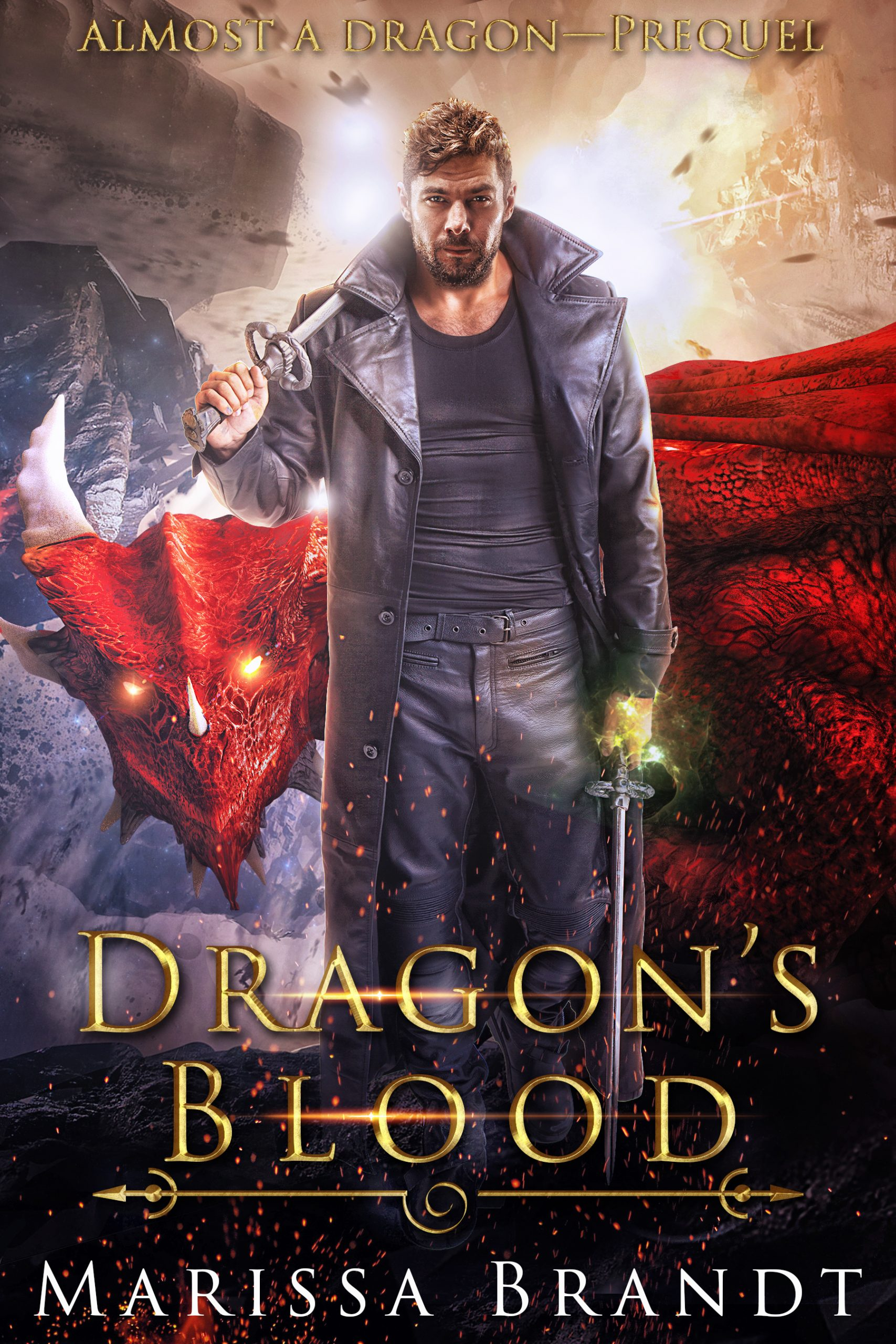 cover art for Dragon's Blood